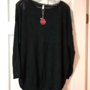 Women's Pinkblush black shirt